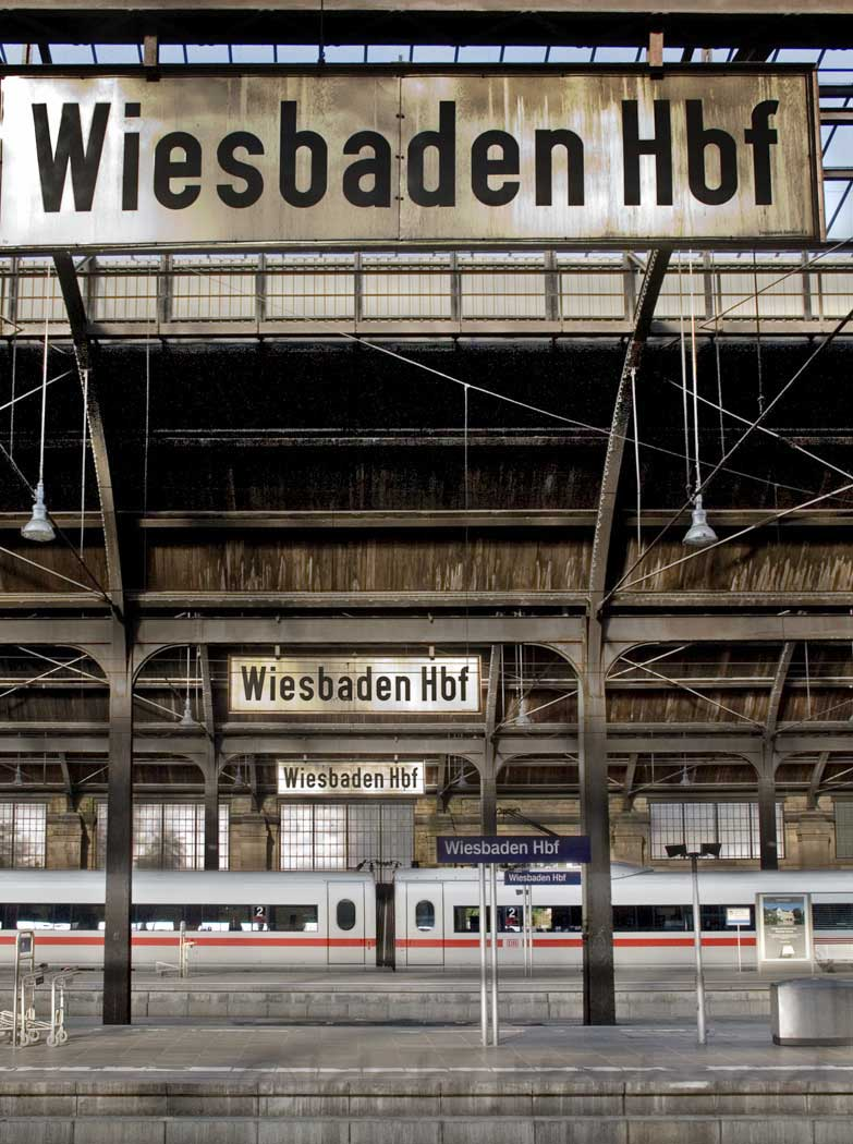 Wiesbaden train station