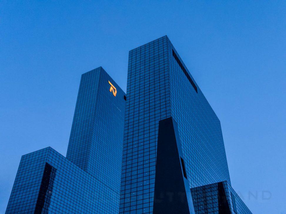 Building in Rotterdam