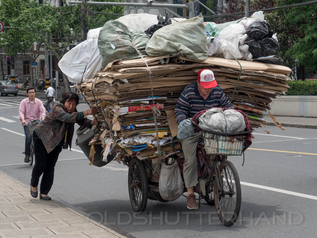 bicycle transport in China