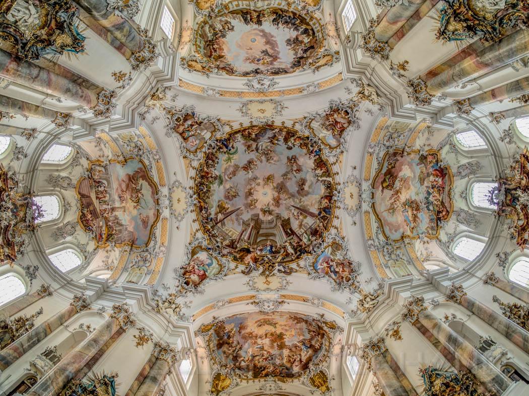 Decke der Basilika in Ottobeuren