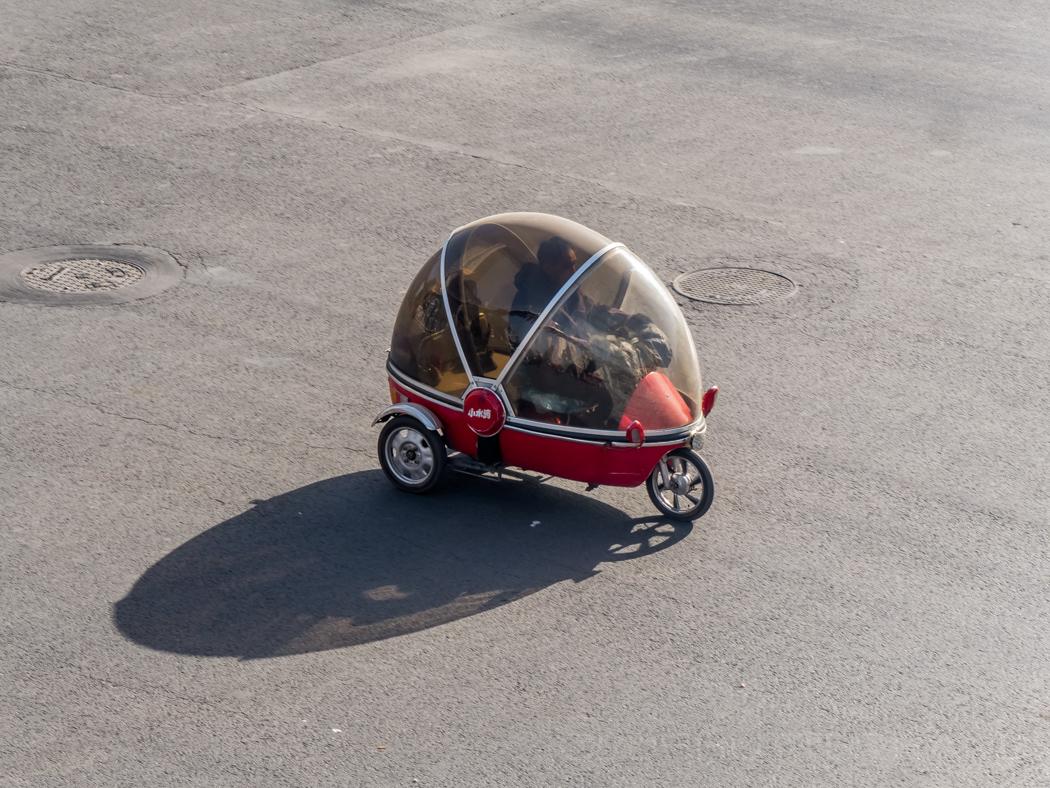 Bubble car in Beijing