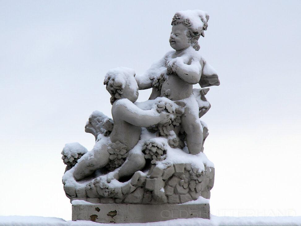 Barocke Steinfiguren am Domplatz