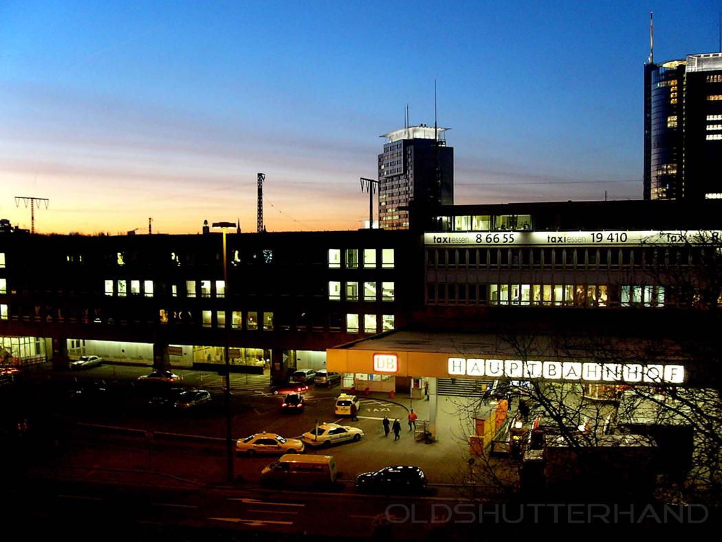 Hauptbahnhof Essen …