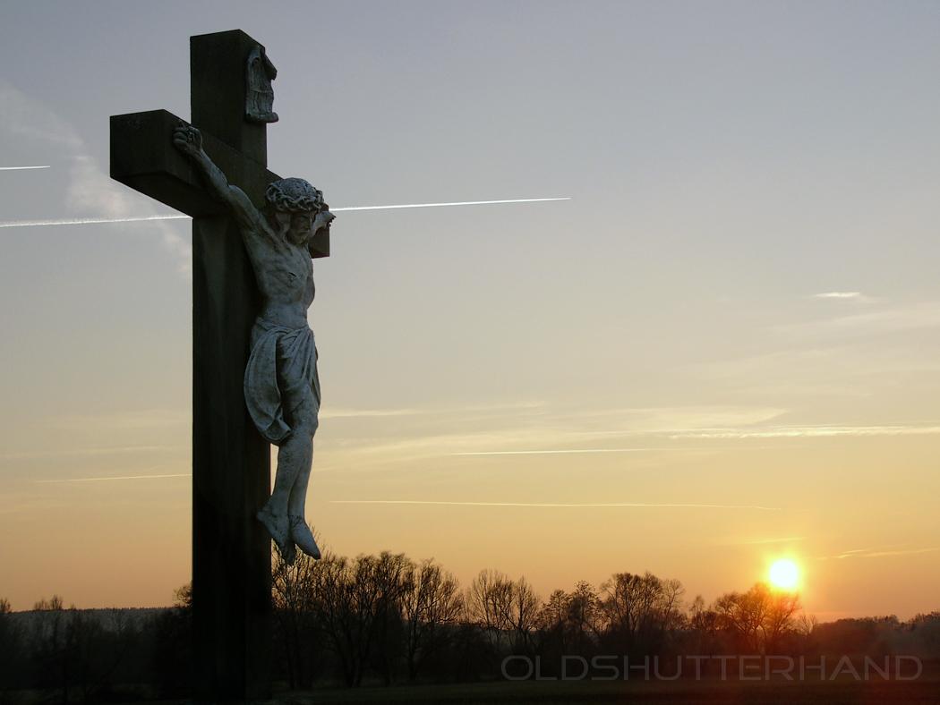 Kruzifix Buger Wiesen