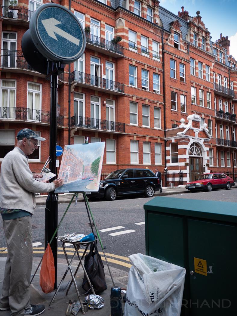 Artist in London
