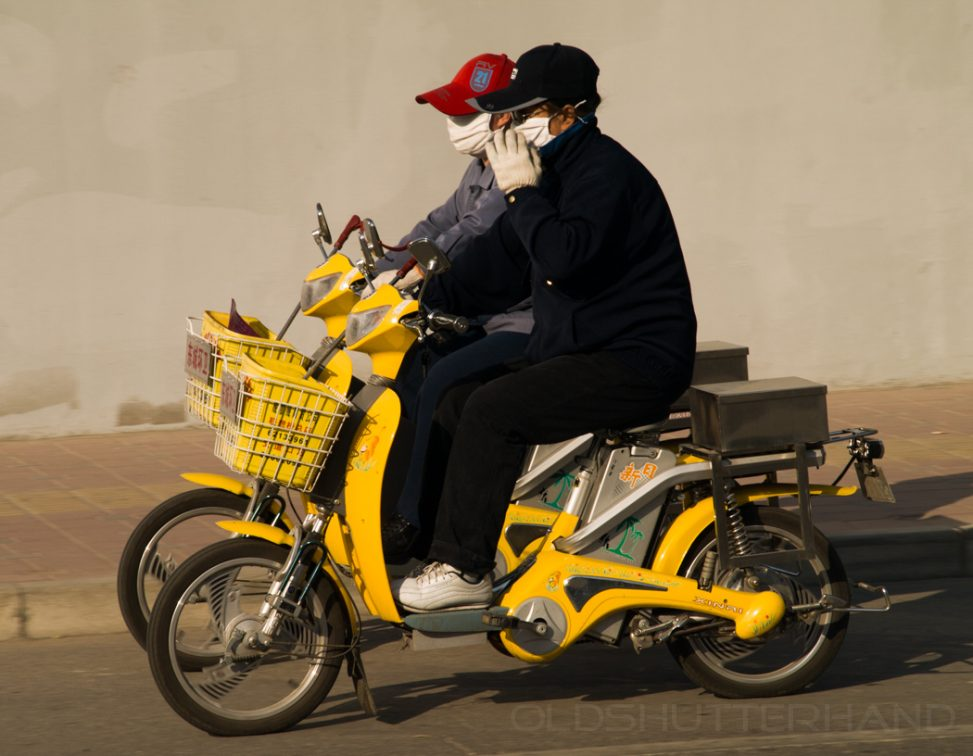 E-Bikes in Peking 2007