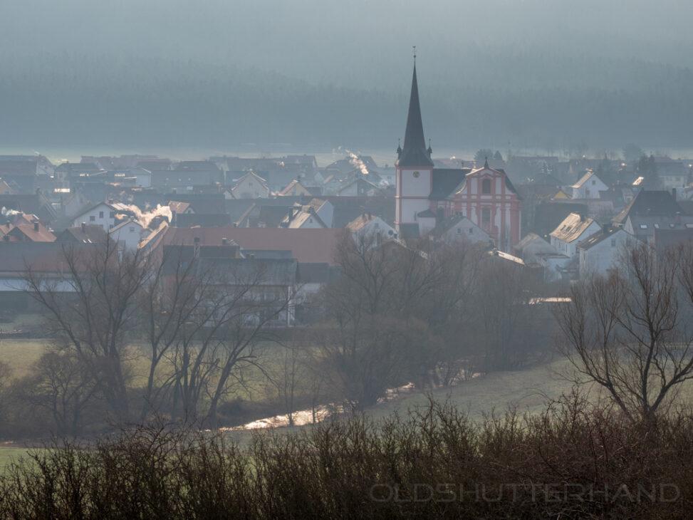 Morgendunst über Pettstadt
