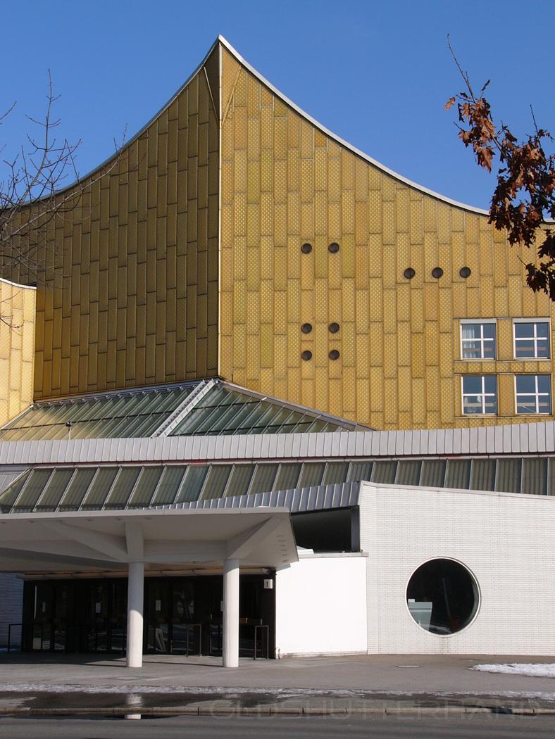 Berliner Philharmonie …