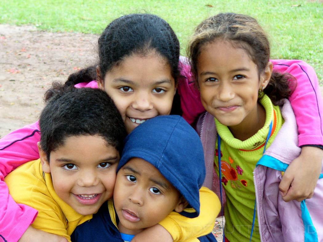 Kinder im Ibirapuera Park, Sao Paulo