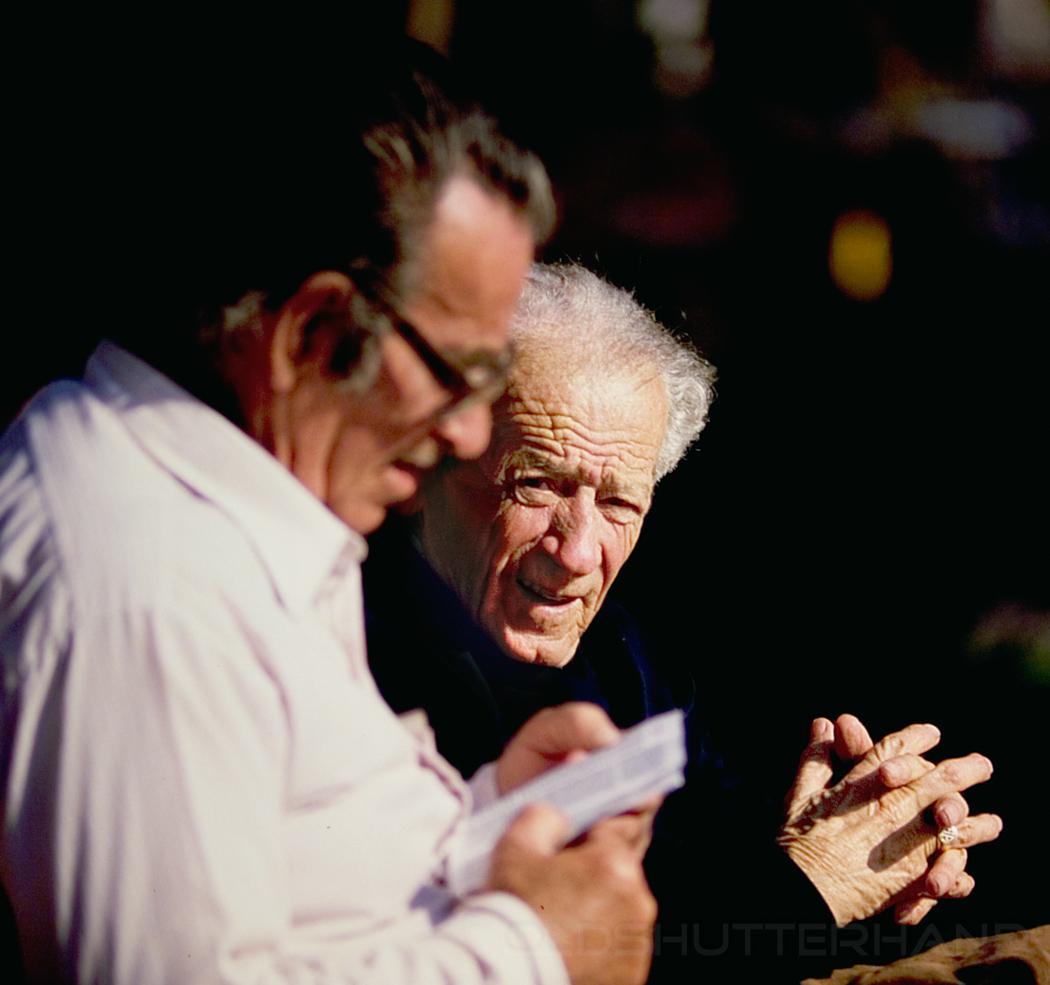 Zwei ältere Herren