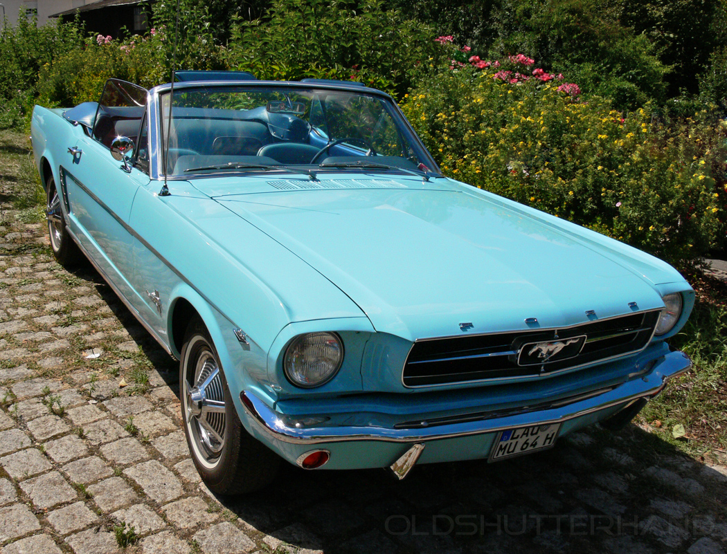 Der Ford Mustang  (1966) …