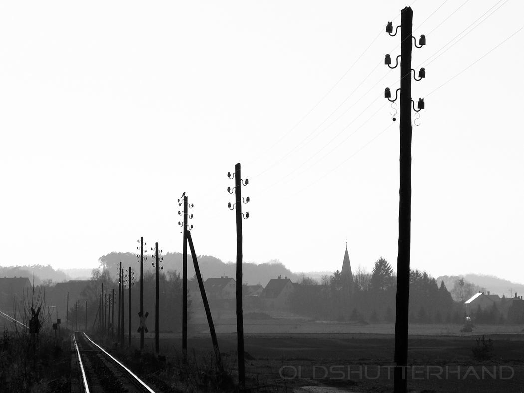 Eisenbahnlinie bei Reundorf