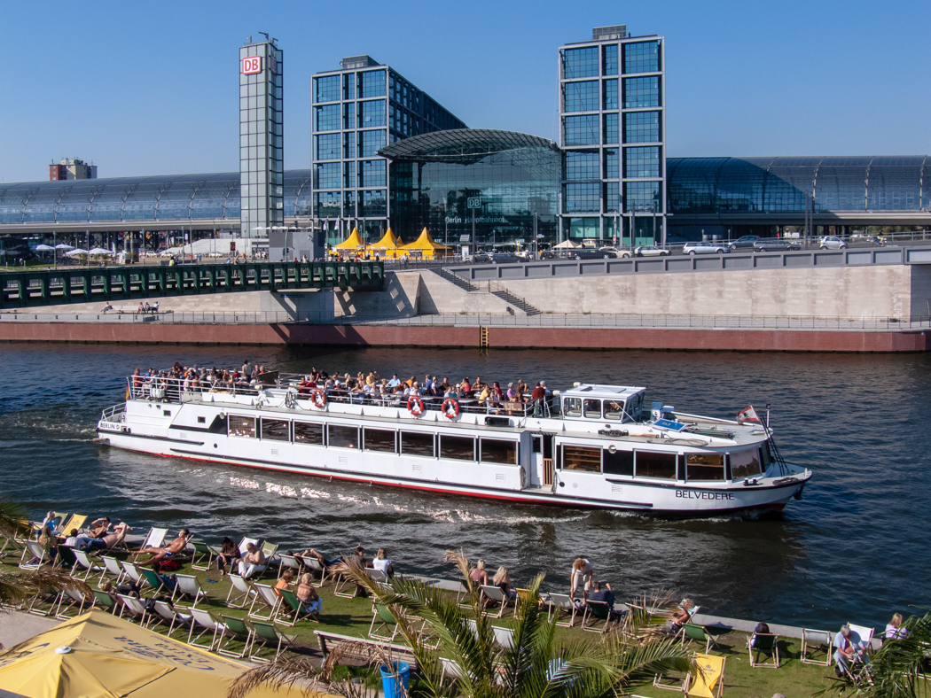Schiff in Berlin