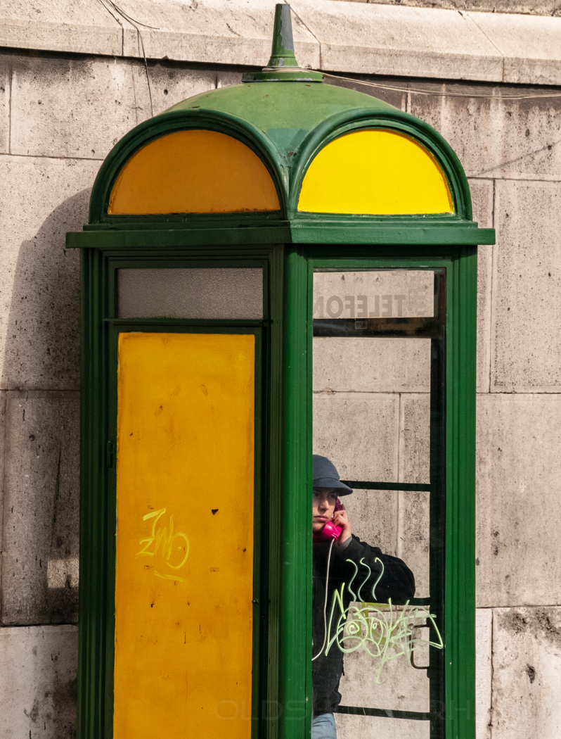Telefonzelle in Budapest