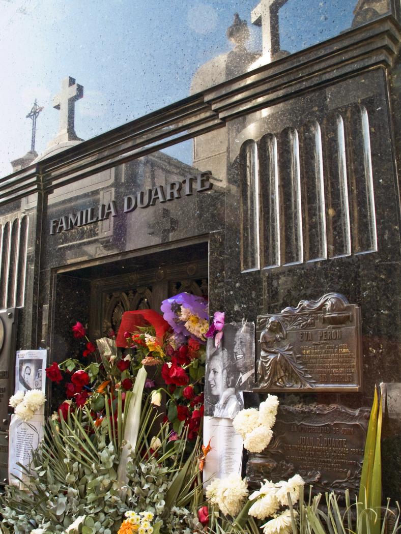 Grab von Evita Peron