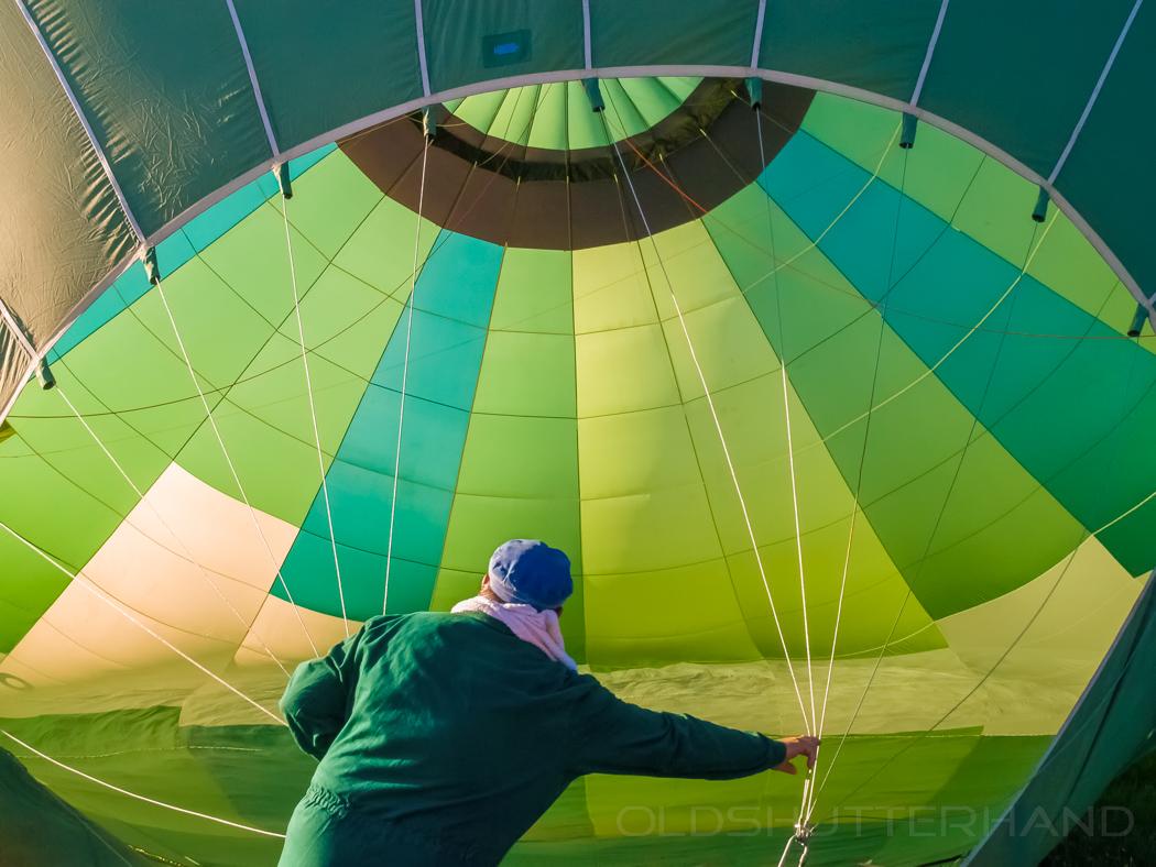 Heldburg Heißluftballon