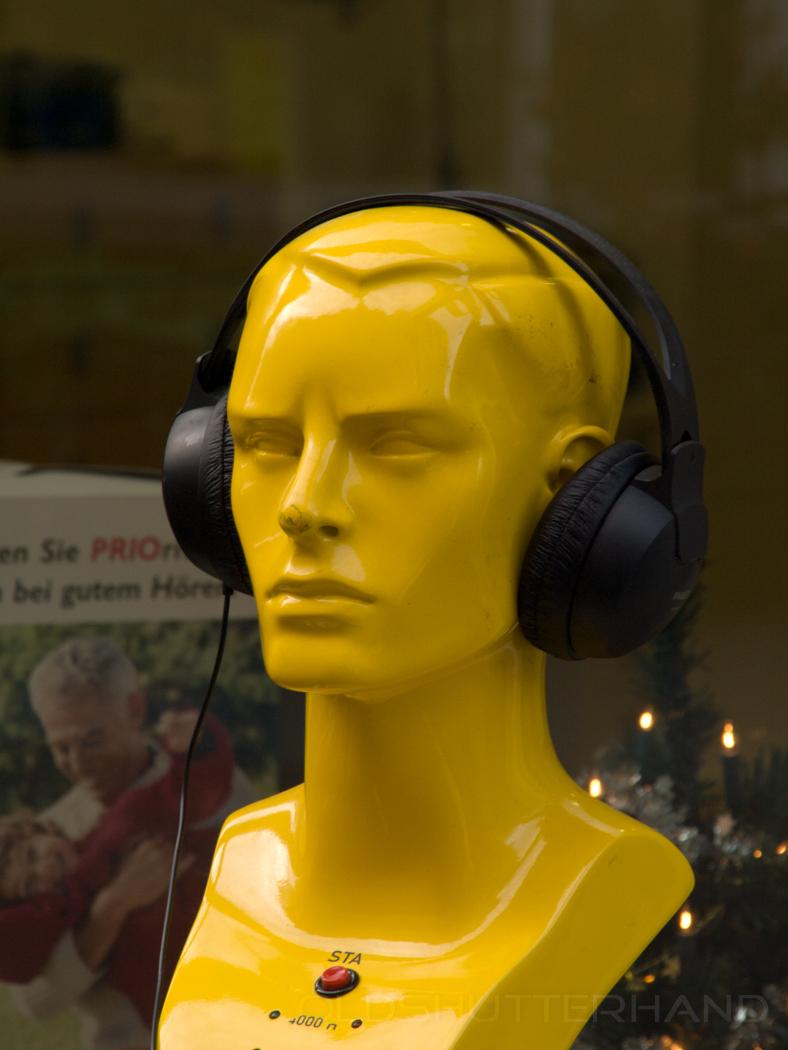 gelber Kopf