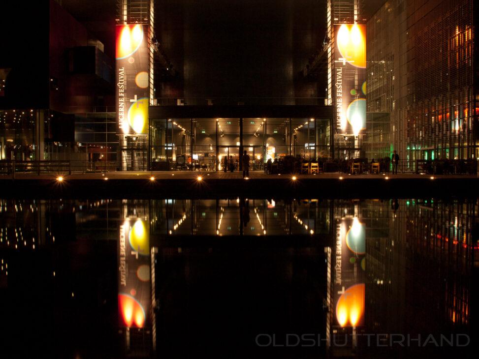 Luzern Festival Hall nachts