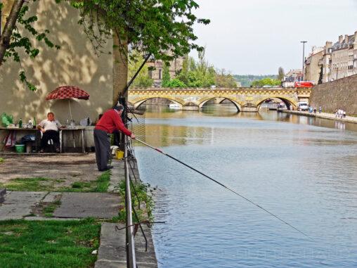 Angler und Biertinker