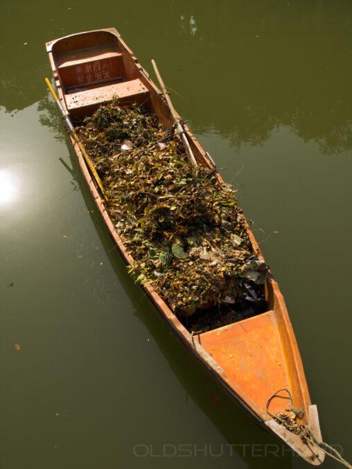 Ruderboot im Sommerpalast