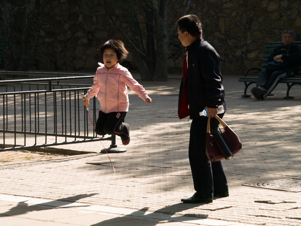 Kind und Vater
