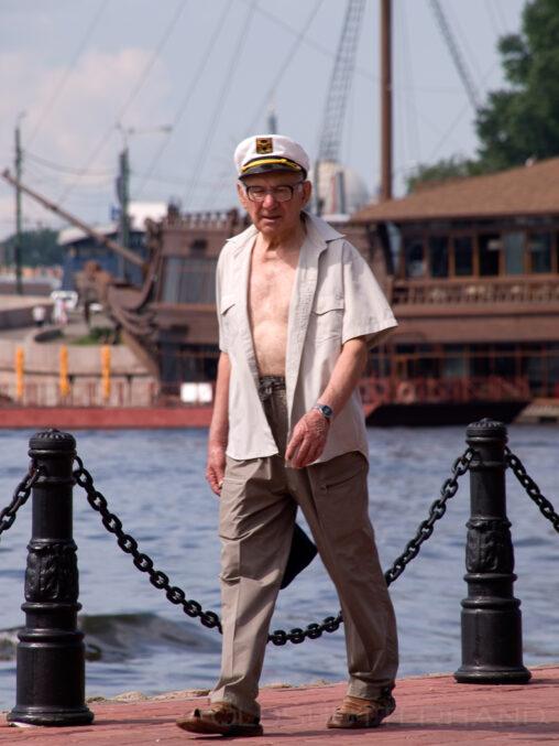 Kapitän in Petersburg