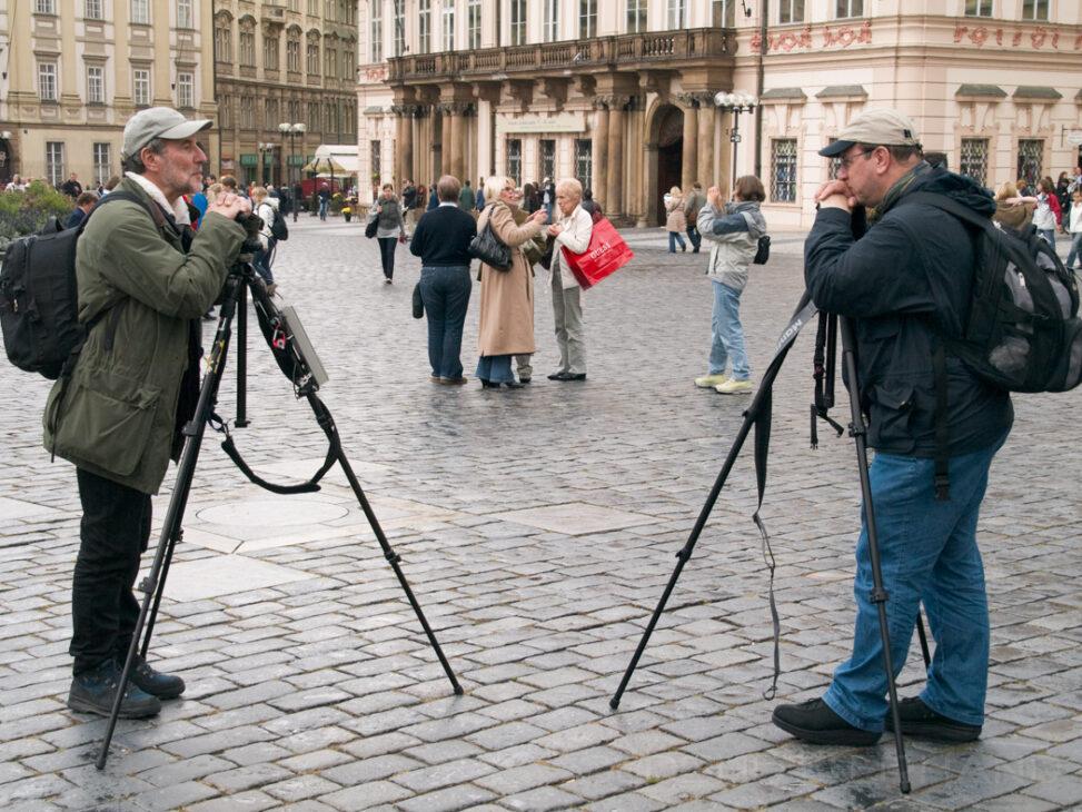 Fotografen in Prag