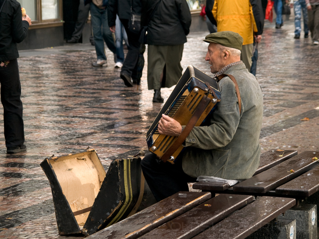 Musiker in Prag