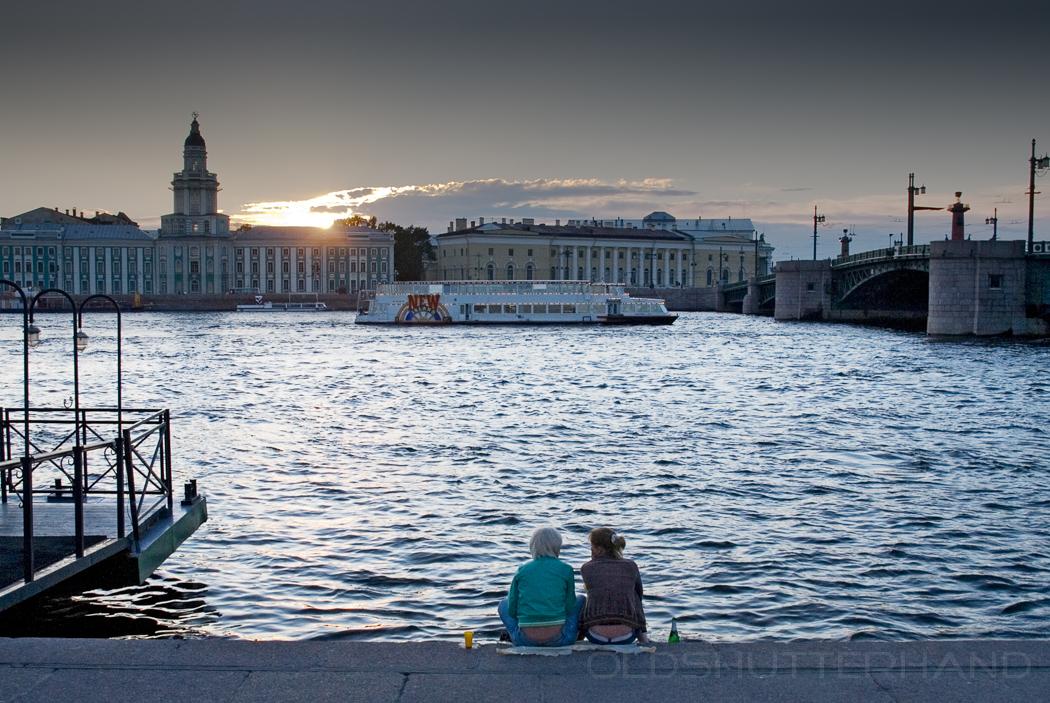 Weiß Nächte Sankt Petersburg
