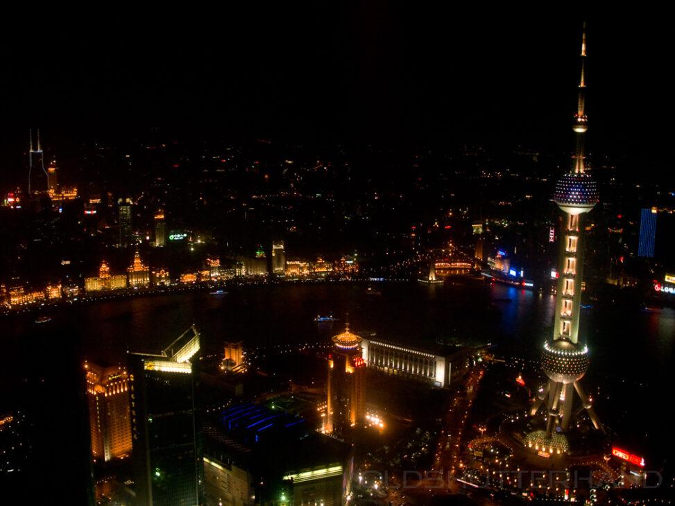Blick vom Jin-Mao-Gebäude