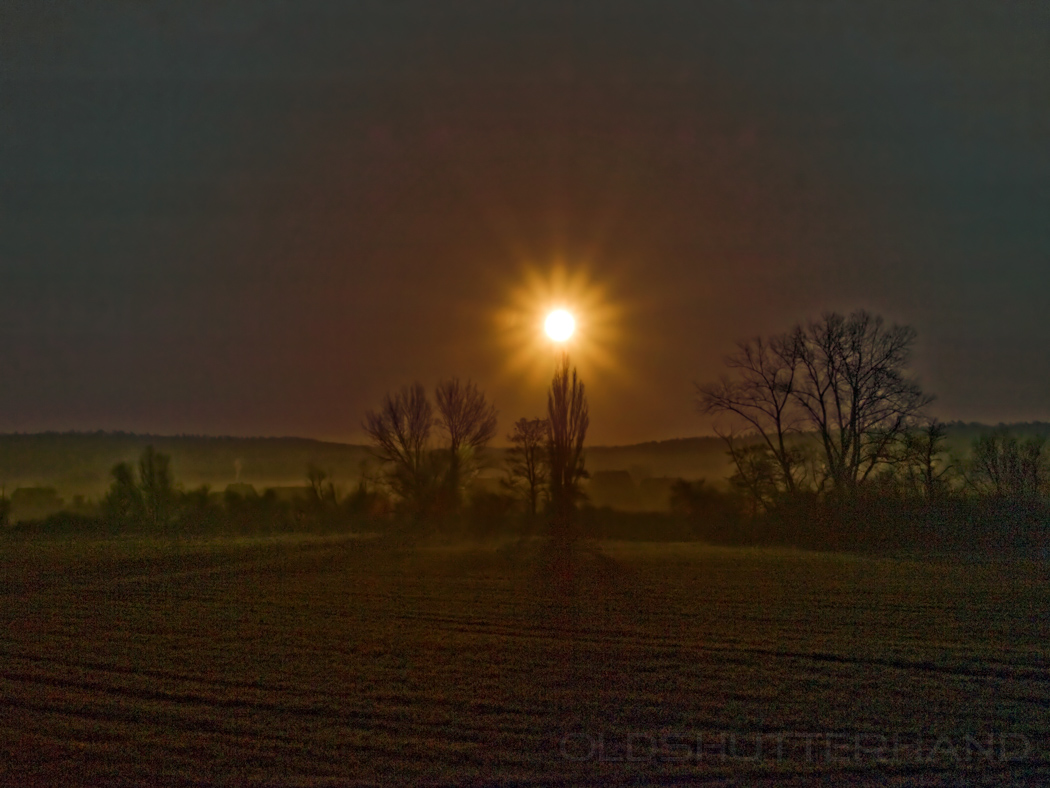 Sonnenaufgang …