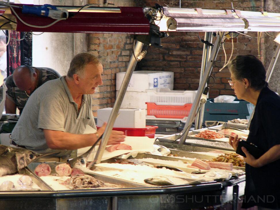 Fischmarkt in Venedig