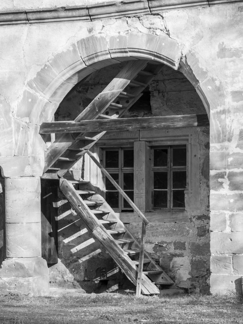 Treppe Schloss Gereuth
