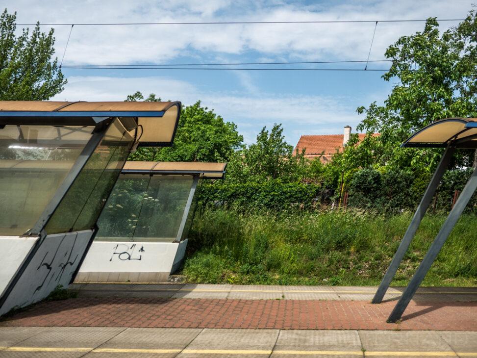 Durchfahrt im Bahnhof von Brno CZ