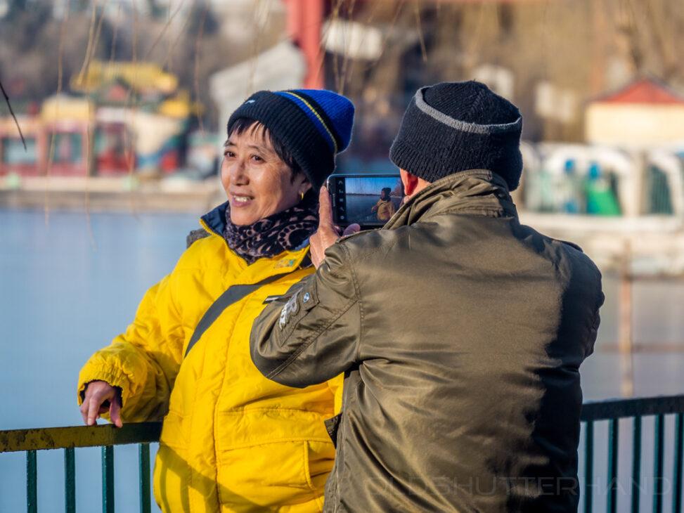 Fotografierende in Peking