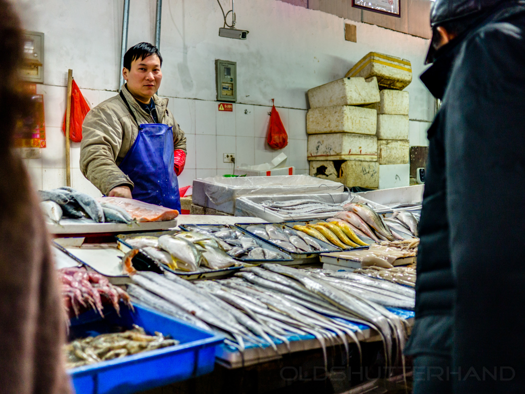 Fischmarkt Peking
