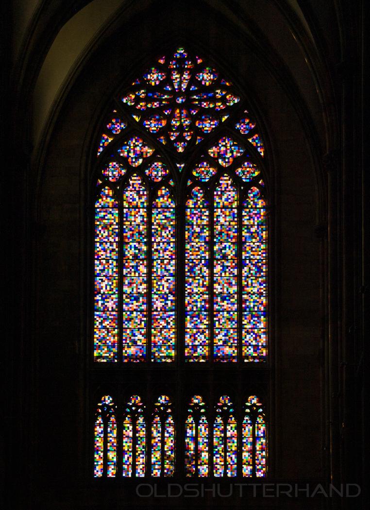 Kölner Dom Rchter Fenster