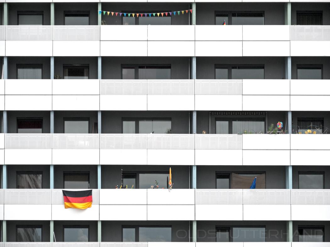 Balkons in Dresden