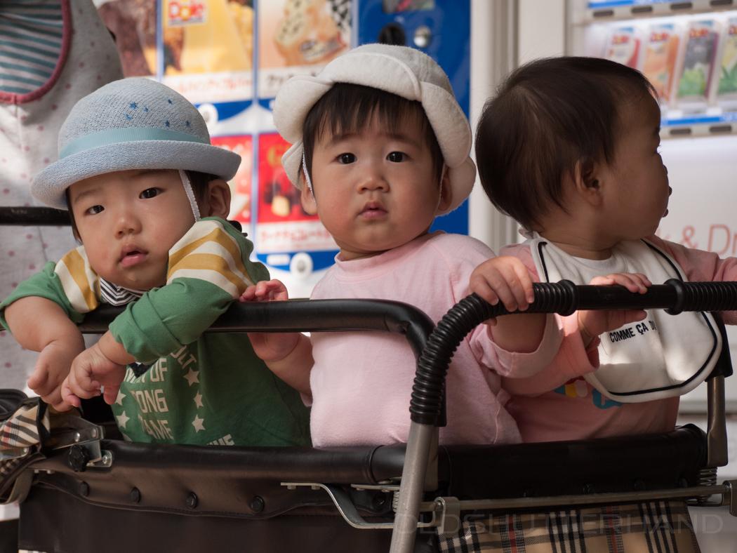 Kinder in Tokio