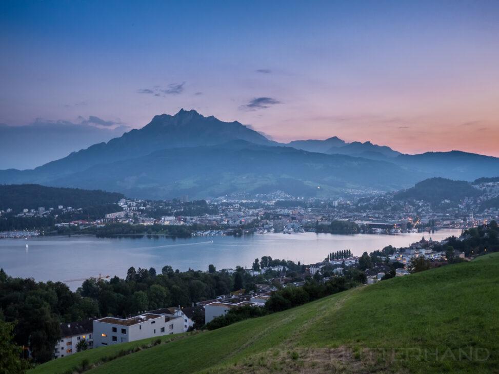 Blick auf Luzern