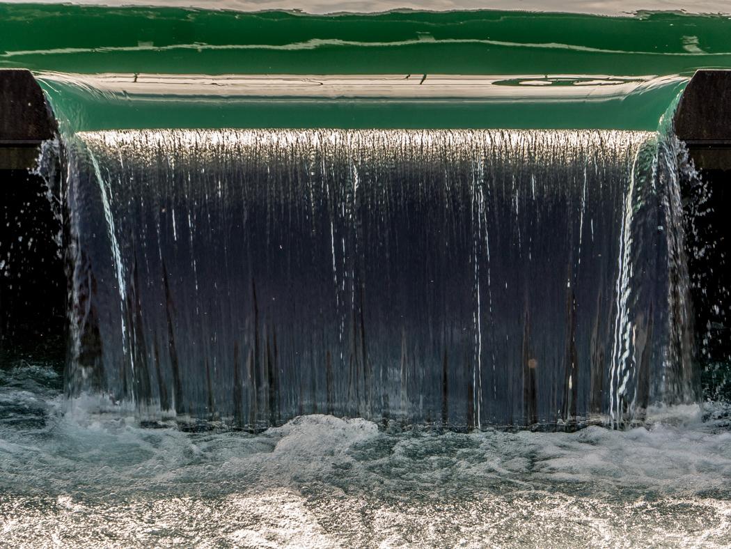 Wasserwand …