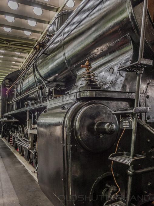 Lokomotive im Verkehrshaus Luzern