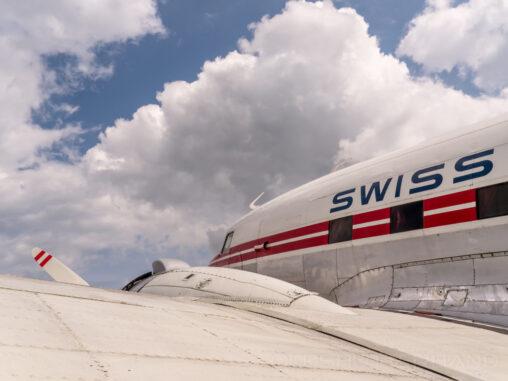 DC-3 im Verkehrshaus in Luzern