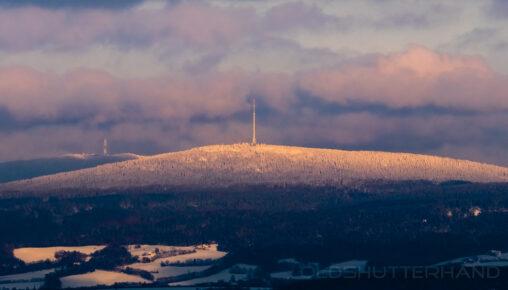 Ochsenkopf und Schneeberg im Winter
