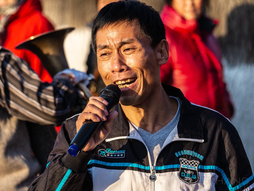 Stassensänger im Beihai Park in Peking 2013