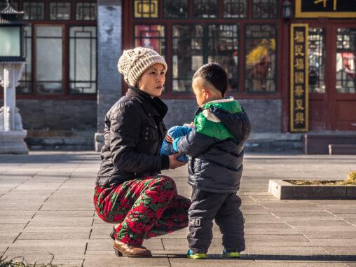Beihai 2013 Frau mit Kind
