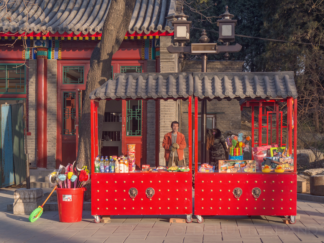 Kiosk im Beihai Park
