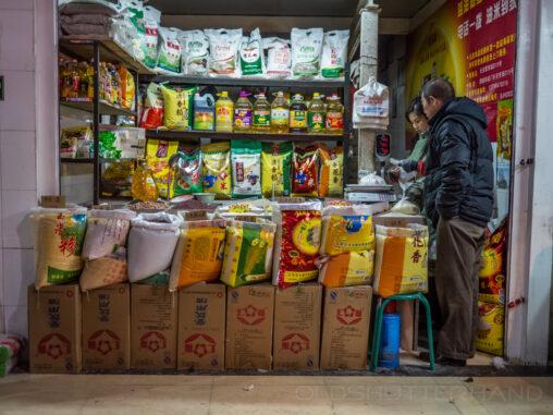 Markt in Peking