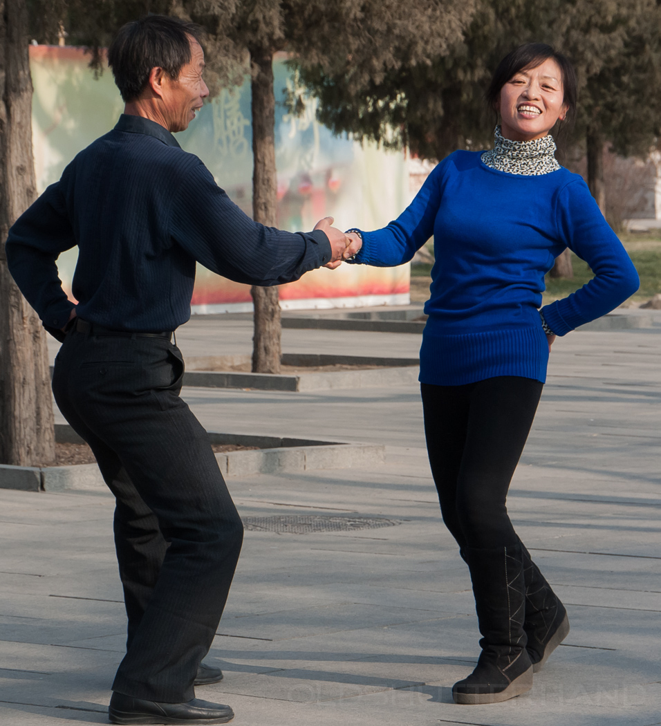 Rock´n roll Tanzpaar in Peking 2011