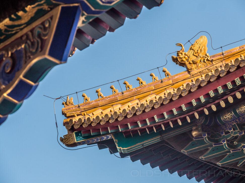 Tempeldach in Peking